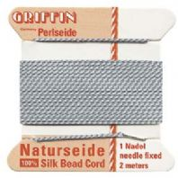 2M Griffin Silk Cord 0.6mm Grey Size 04
